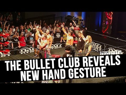 The Bullet Club Reveal New Hand Gesture