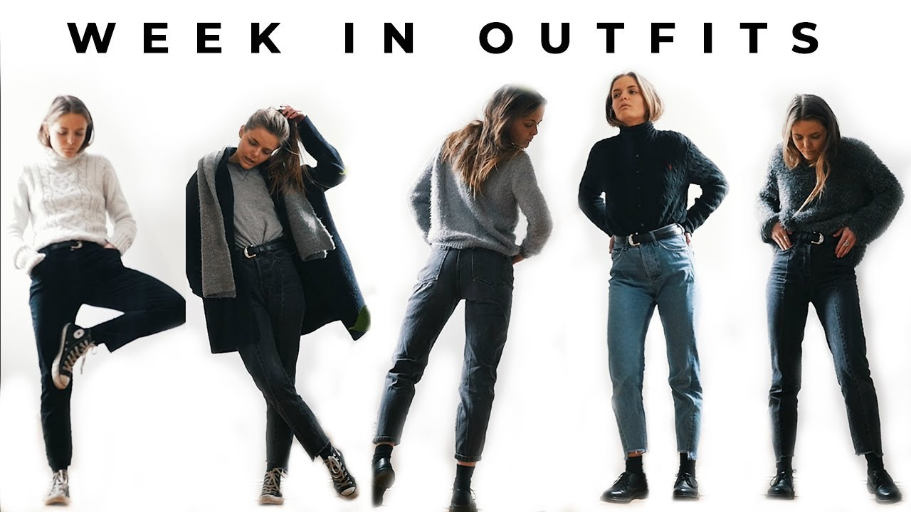 [VIDEO] - WEEK IN OUTFITS (Uni Student) | Winter Thrifted Outfit Ideas! 6