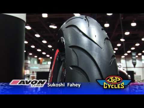 Avon Cobra AV71 (front) / AV72 (rear) Motorcycle Tire • JPCYCLES