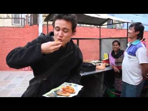 Nepali Street Food Snacks in Kathmandu by light-travels.com