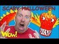 Scary Halloween Party Stories from Steve and Maggie | Free Wow English TV for Kids