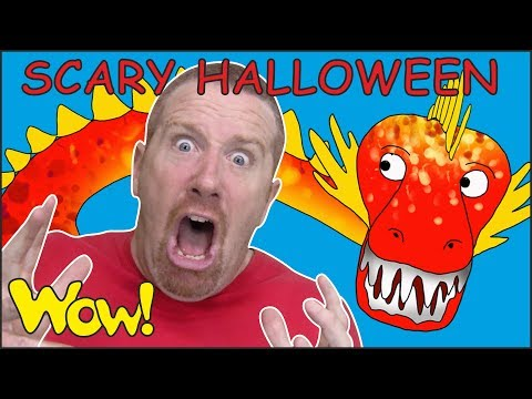 Scary Halloween Party Stories from Steve and Maggie  Free Wow English TV for Kids