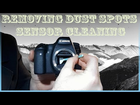 How to Cleaning DSLR Camera Sensor | Remove dust spots | Wet and Dry | Improve your Photography vlog
