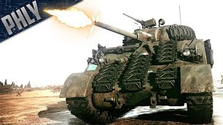 Repeat youtube video KING TIGER KILLER - Sherman POWER (War Thunder Tanks)