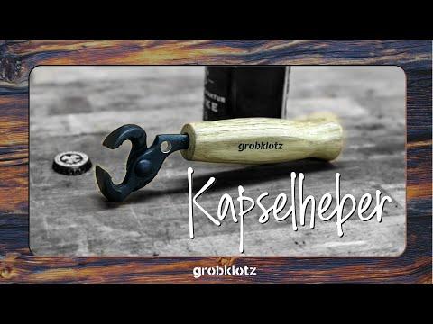 Kapselheber/Flaschenöffner aus altem Werkzeug