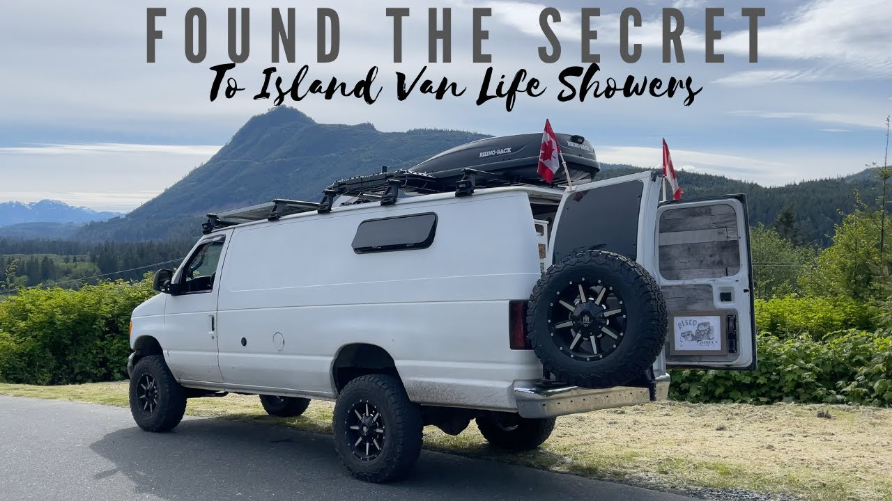 Stealth Camping Down An Overgrown Road | Broken Spare Tire And Cracked Window