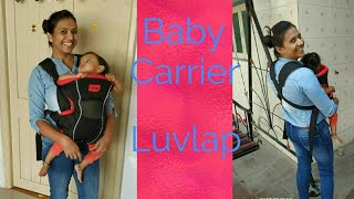 #Unboxing Luvlap baby carrier.. For alaknanda