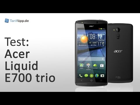 Acer Liquid E700 trio | Test