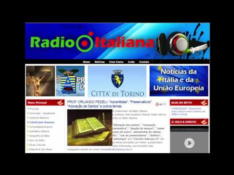 Imagens, Protestantes, Preservativos, etc. Prof. Orlando Fedeli. Entrevista à Rádio Italiana