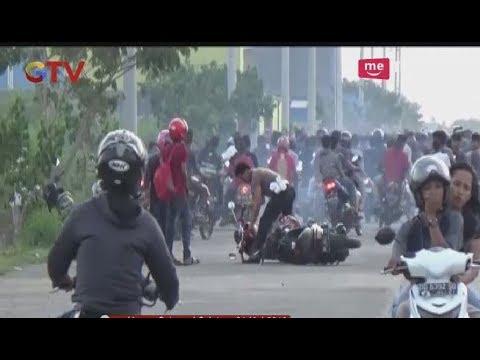 Razia Balap Liar di Gowa, Ratusan Pengendara Motor Kabur Ketakutan - BIM 21/05