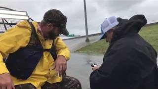 Cajun Navy Saving The Houston Flood Victims From The Rising Flood Waters!