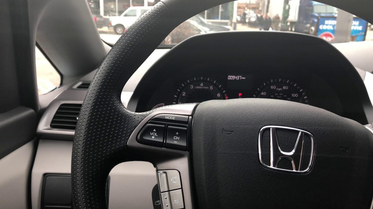 How To Open Gas Cap Honda Odyssey