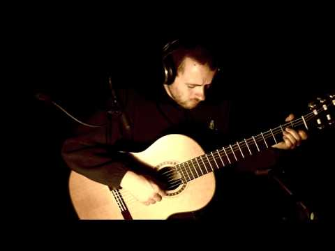 With Love - by J. H. Clarke - Classical Spanish Acoustic Guitar