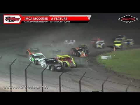 Modified Feature - Park Jefferson Speedway - 6/8/19
