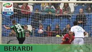 Il gol di Berardi - Sassuolo - Lazio - 2-1 -Giornata 8 - Serie A TIM 2015/16
