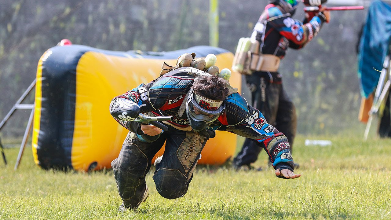 professional paintball at the nxl ironmen vs x factor russian