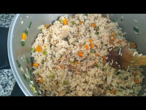 Ghana Fried Rice (Natural, simple & cheap method )