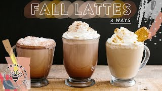 3 EASY FALL LATTES - Honeysuckle