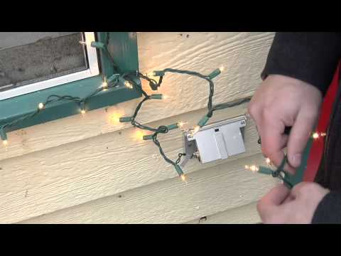 How to Decorate a Window With Christmas Tree Lights