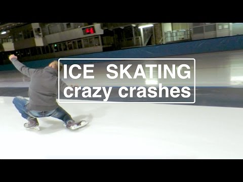 Ice Skating Again crazy crashes - Sportforum Berlin