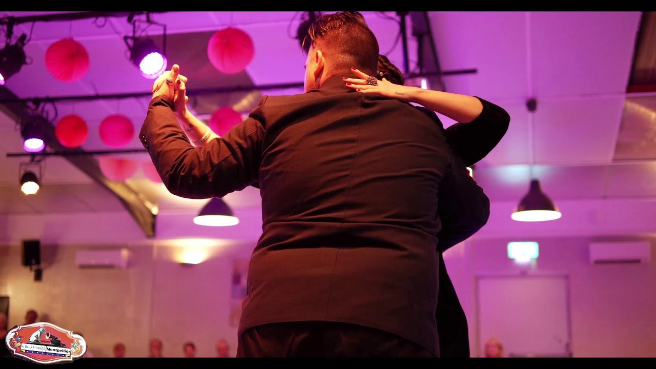 """Sebastian Bolivar & Cynthia Palacios """"Arrabal"""" 4/4 El Salon de Tango Montpellier 2019"""