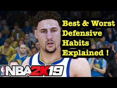 NBA 2K19 Defense Tips On Ball and Off Ball Defense Tutorial 2K19 Defensive Settings #21