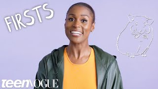 Issa Rae Shares Her First On-Screen Kiss, Crush & More | Teen Vogue