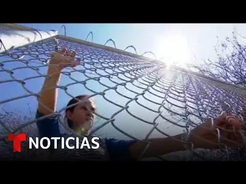 Entran a EE.UU. 25 familias del programa 'Quédate en México' | Noticias Telemundo