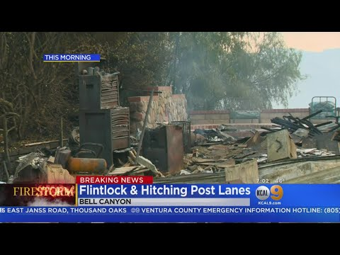Devastation In Calabasas: Woolsey Fire Leaves Path Of Destruction