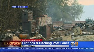 Devastation In Calabasas: Woolsey Fire Leaves Path Of Destruction