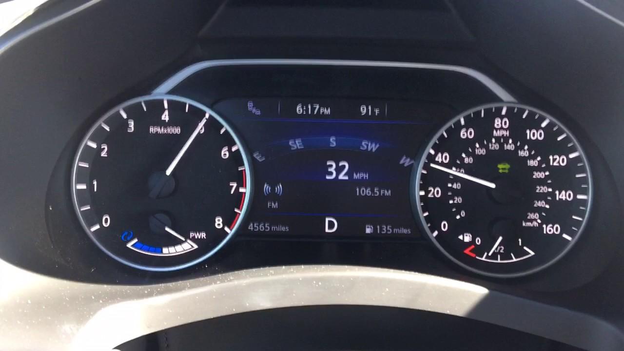 2017 Nissan Murano Hybrid Acceleration