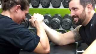 Epic Gym Time Arm Wrestling