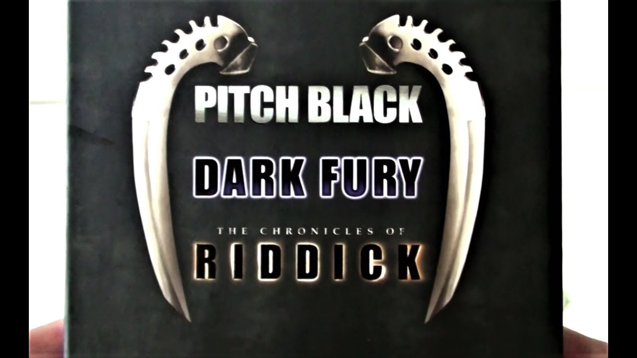 The Riddick Collection: Pitch Black - Dark Fury - The Chronicles Of Riddick  Box Set Review - YouTube