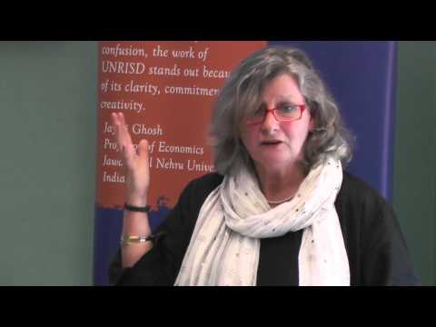 Development and Welfare Policy in South Asia, a Seminar by Gabriele Koehler