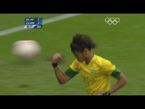 Brazil 32 Honduras  Men's Football QuarterFinals  London 2012 Olympics