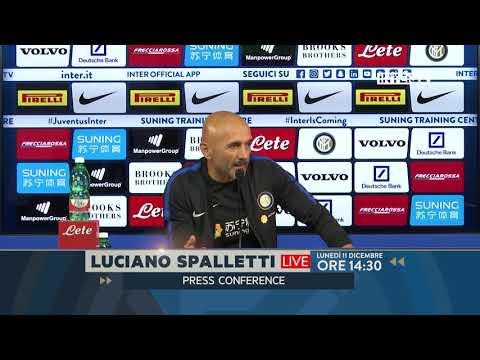 Follow Mister Spalletti's press conference ahead of Inter v Pordenone