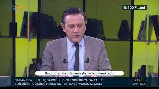 Rıdvan Dilmen ve Murat Kosova ile %100 Futbol | Galatasaray - Atakaş Hatayspor (5 Aralık 2020)