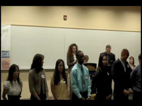 UCCS | College Of Business | May 2009 | Beta Gamma Sigma Induction | 1 Of 2