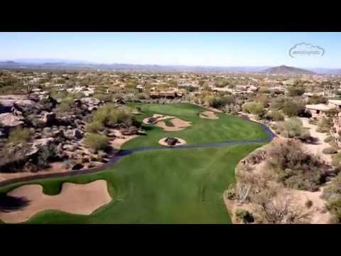 Troon North Golf Club   Monument Course   Aerial Flyover Tour