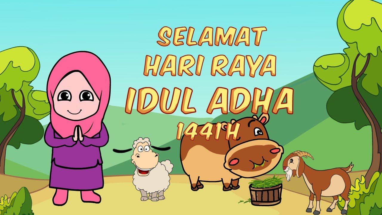 Kartun Lucu Selamat Hari Raya Idul Adha 1441h Youtube