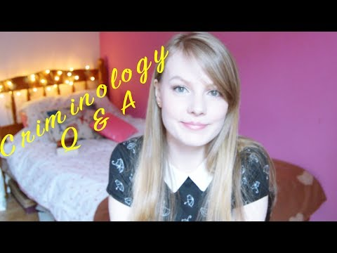 Criminology Q & A