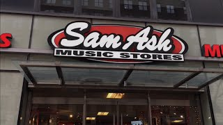 Visit Sam Ash Music Store New York City
