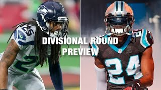 Seahawks vs. Panthers Preview (NFC Divisional Playoff) | NFL
