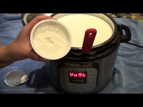 Making Yogurt Using The Instant Pot - Part 1 - Prepping Milk For Incubation