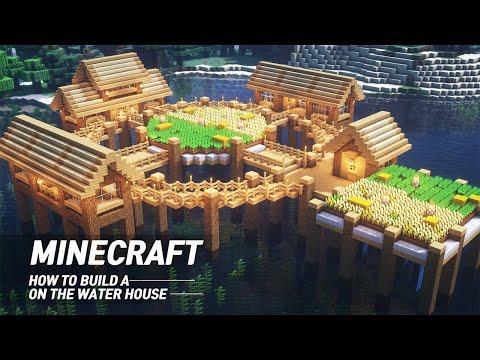 Майнкрафт учебник: как построить дом на воде #77