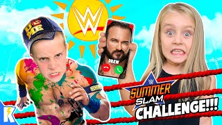 WWE Summer Slam Camp 2020 + Secret Message from WWE Superstar!!!!