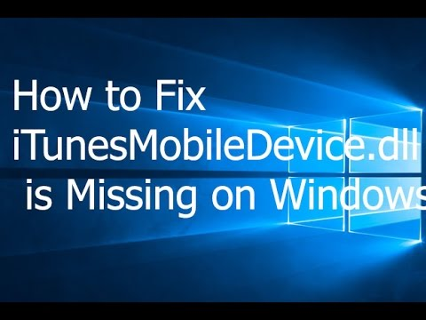 How to Fix iTunesMobileDevice.dll is Missing on Windows