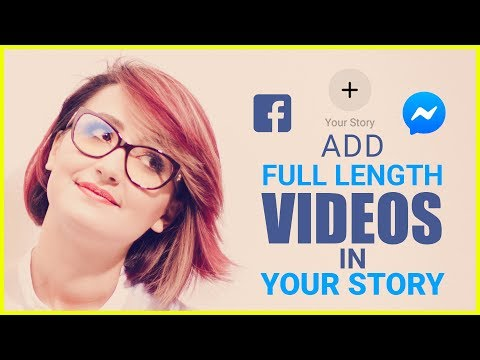 How To Upload Full Length Video Story In Facebook