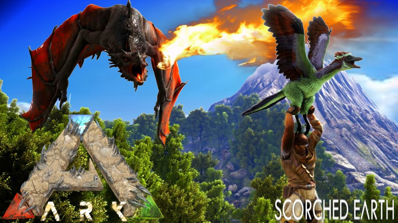 ARK: Scorched Earth #8 - TAMING ROCK ELEMENTAL ...