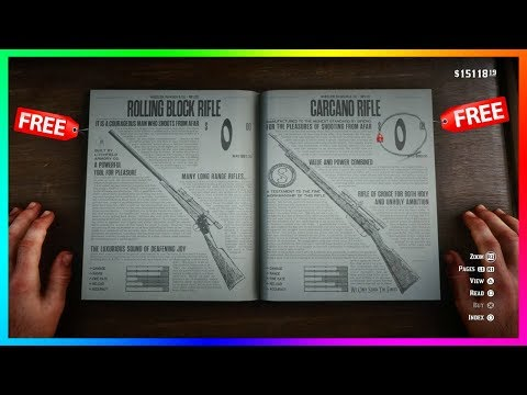 How To Get ANY Weapons For FREE In Red Dead Redemption 2 - Getting The BEST Guns For FREE! (RDR2)